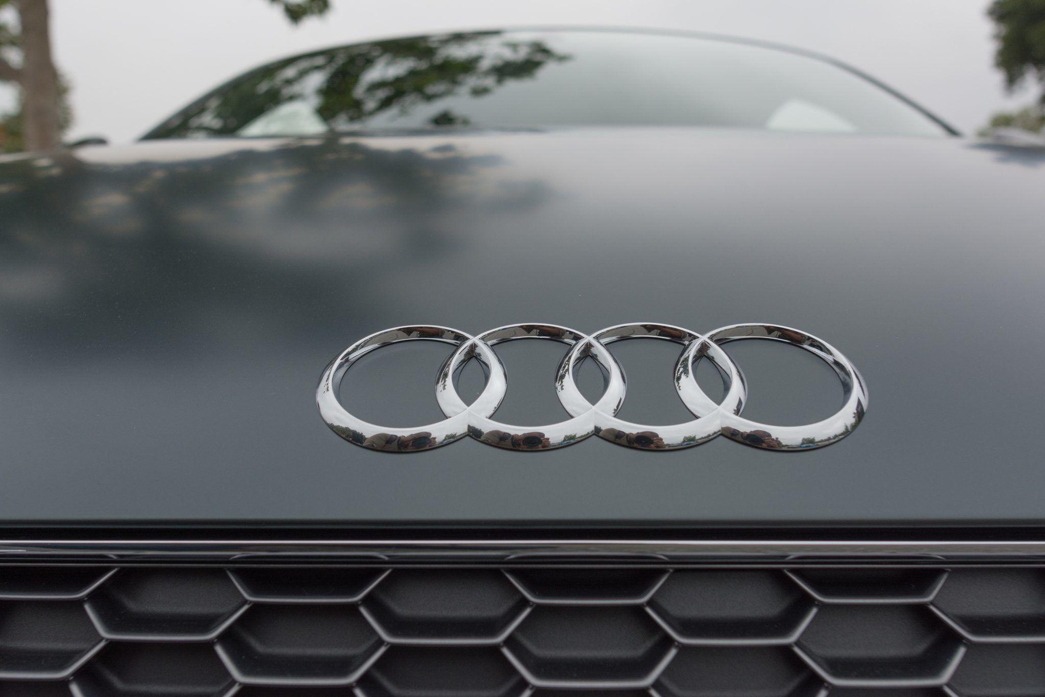 Audi 4 Rings Logo Chrome Ab German Car Care